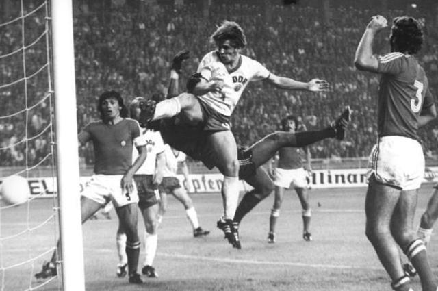 Fußball-WM, DDR - Chile 1:1